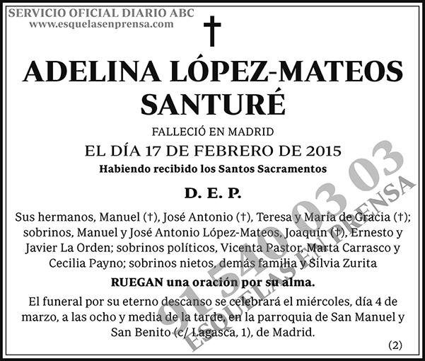 Adelina López-Mateos Santuré